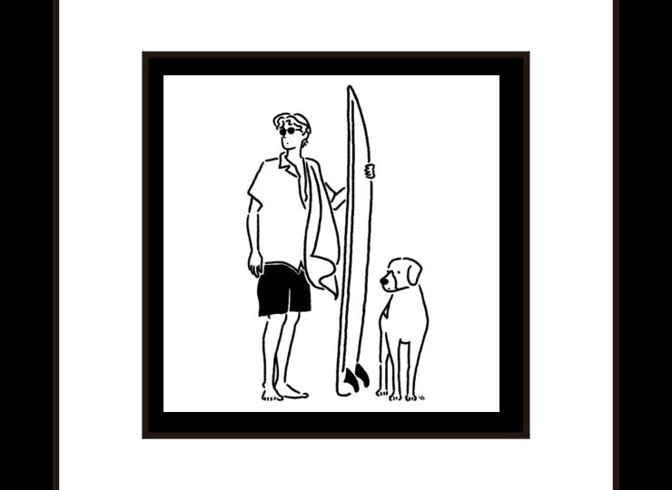 002-surfer&dog